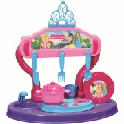 Bucatarie copii Princess Maya and Friends Ucar Toys, 15 piese