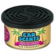 Odorizant auto California Scents - Hawaiian Gardens (Made in USA)