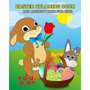 Easter Coloring Book and Activity Book for Kids: Mazes, Coloring, Dot to Dot, Word Search Puzzle, and Find the Differences Games for Kids Ages 4-8, 5-, Paperback/Diana Caron