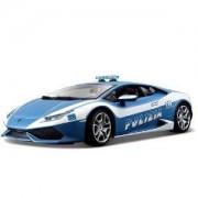 Bburago - модел на кола 1:18 - Lamborghini Huracan Polizia, 093139