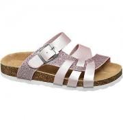 Graceland Roze sandaal met glitters Graceland maat 35