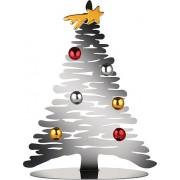 Alessi Dekoracja świąteczna Bark for Christmas srebrna