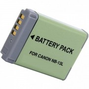 SilverHT Bateria para Câmara Canon NB-13L 1250mAh