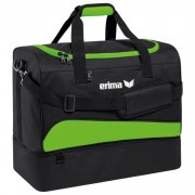 erima Sporttasche CLUB 1900 2.0 - mit Bodenfach - green gecko/schwarz