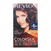Färg utan Ammoniak Colorsilk Revlon Gyllene kastanjekoppar
