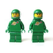 LEGO Ideas CUUSOO Minifigures Set of 2 Pete & Yve Green Astronaut from Exo Suit (21109)