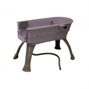 Booster Bath Elevated Dog Bathing and Grooming Center, Medium, Lilac