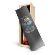 YourSurprise Wijn in bedrukte kist - Belvy - Rosé