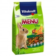 Vitakraft Menú Vital para conejos enanos - 5 kg
