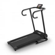 Klarfit Pacemaker X1 futópad, 10 km/h, tréning számítógép, fekete (FIT18-PM-X1-BK)