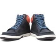 Puma MINI Ribald Mid Sneakers For Men(Navy, Orange)
