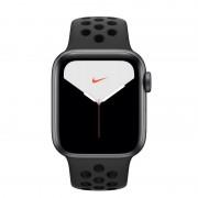 Apple Watch Nike Series 5 GPS + Cellular 40mm Alumínio Cinzento Espacial com Correia Desportiva Antracite/Preta
