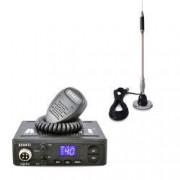 Pachet statie radio CB Avanti Alpha tehnologie SMD + antena CB Bytrex MiniPlus