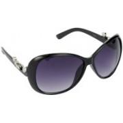 Hrinkar Over-sized Sunglasses(Grey)