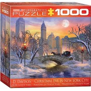 EuroGraphics Christmas Eve in New York City Puzzle (1000 Pieces)
