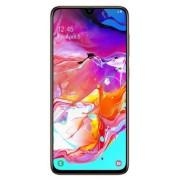 "Telefon Mobil Samsung Galaxy A70, Procesor Snapdragon 675, Super AMOLED touchscreen 6.7"", 6GB RAM, 128GB Flash, Camera Tripla 5+8+32MP, 4G, Wi-Fi, Dual SIM, Android (Portocaliu) + Cartela SIM Orange PrePay, 6 euro credit, 6 GB internet 4G, 2,000 minute na"