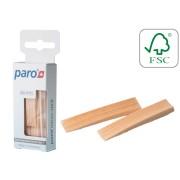 Scobitori medicinale din lemn Paro Micro-Stick, super subtiri, 96 buc #1751