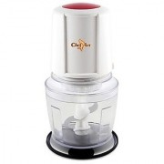 Chef Art CMC092 500 Watts Double Blades Mini Chopper - Red