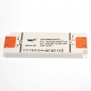 Barcelona LED Alimentation 130W 12V-DC 11A ultra fine - Transformateur / Bloc alimentation