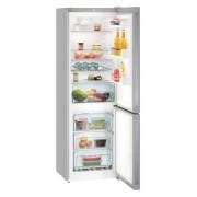 Combina frigorifica Liebherr CNel 4313, 304 L, No Frost, Display, Control electronic, Raft sticle, Alarma usa, H 186.1 cm, A++, Argintiu