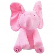 EH Elefante De Juguete De Juguete De Música Eléctrica Elefante De Ocultar Y Buscar Juguetes De Juguete Para Bebés