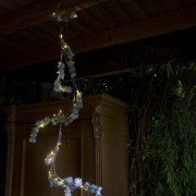 Kaemingk Christmas Pine Branch Snow LED 1.5 Meters