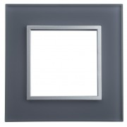HBF rámeček skleněný SOPIA šedý 159311