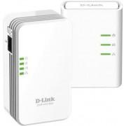 Powerline adapter D-LINK DHP-W311AV, mreža putem postojećih električnih instalacija + Wireless N Extender, LAN + WiFi, starter kit