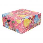 Disney Inpakpapier/cadeaupapier Disney Princess 200 x 70 cm roze
