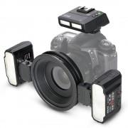 MeiKe MK-MT24C Kit Blit Macro pentru Canon