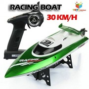 Toys Bhoomi 2.4g HIGH SPEED 30km/h Racing RC Boat Ship With Water Cooling Motor System