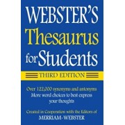 Webster's Thesaurus for Students, Paperback/Merriam-Webster