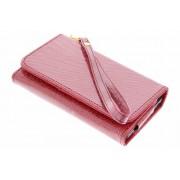 Rode glitter portemonnee hoesje voor de Samsung Galaxy S8