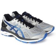 Asics GEL - KAYANO 23 Running Shoes For Men(Black, Grey)