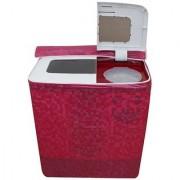 Glassiano Washing Machine Cover For Intex WMS62TL Semi Automatic Top Load 6.2 Kg