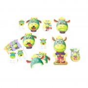 Jocul emotiilor Emo Moogy Miniland, 8 carduri, 11 piese incorporabile