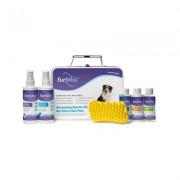 Furbliss Grooming & Bathing Short Hair Dog & Cat Starter Kit