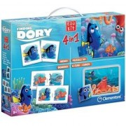Set Educativ Clementoni Disney Edukit 4 in 1 Finding Dory