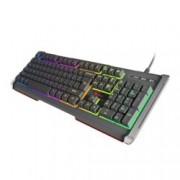Клавиатура Natec Genesis RHOD 400, гейминг, подсветка, сива, USB