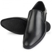 COPACABANA high quality Micro Synthetic Leather Slip on Formal Men's Shoes' Color: Black