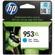 Мастилена касета HP 953XL High Yield Cyan Original Ink Cartridge, F6U16AE
