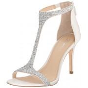 Imagine Vince Camuto Women's Im-Phoebe Dress Sandal, Crystal/Silver, 6.5 M US