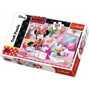 Puzzle clasic copii - Minnie Mouse si Daisy cele mai bune prietene 30 piese