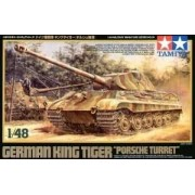 Tamiya 32539 German King Tiger Porsche Turret