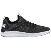 Puma Men's Black IGNITE Flash evoKNIT Running Shoes