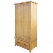vidaXL garderoob 1 sahtliga, 90 x 52 x 183 cm, tammepuit