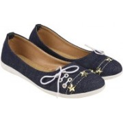 Visteria Visteria Syelish Belly Blue Bellies For Women(Navy)