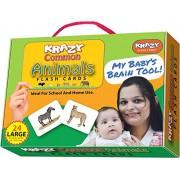 Krazy Common Animals - Flash Cards