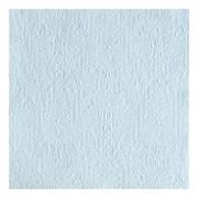 Ambiente Luxe servetten barok patroon lichtblauw 3-laags 30x stuks - Feestservetten