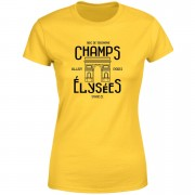 Champs Elysees Winner Women's T-Shirt - Yellow - XL - Yellow